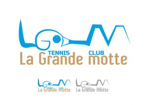 logo tennis la grande motte idée 2