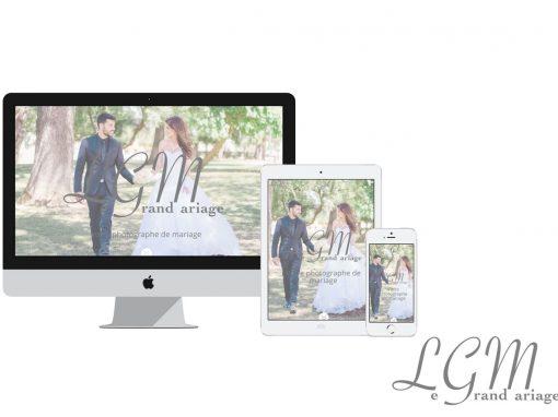 Le Grand mariage – Site vitrine