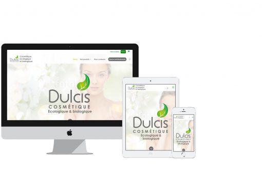 Dulcis Cosmétique: Site e-commerce